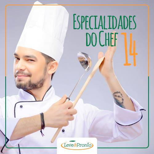 Especialidades do Chef 14 Refeições