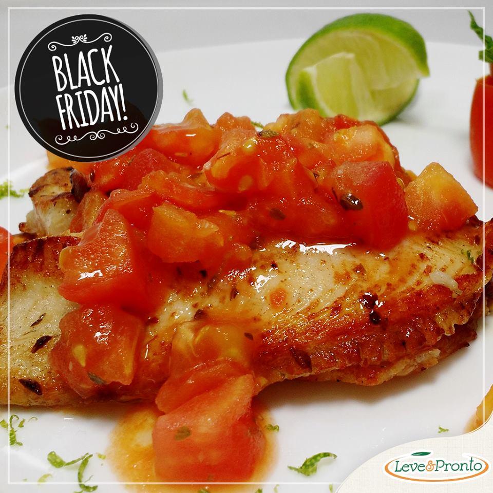 Emagreça com saúde com as refeições da Leve e Pronto na Black Friday